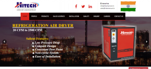 Air Dryer Chiller Manufacturer Hitech Air cool Systems
