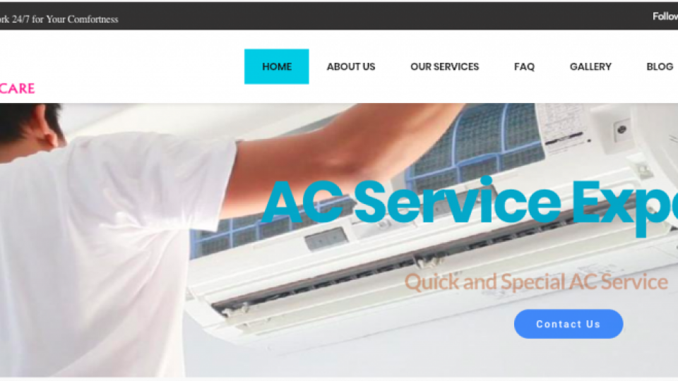 Web Design Pollachi , Ac Service