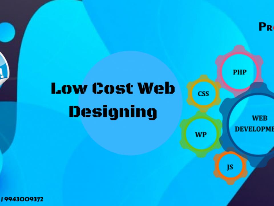 Low cost Website design in coimbatore