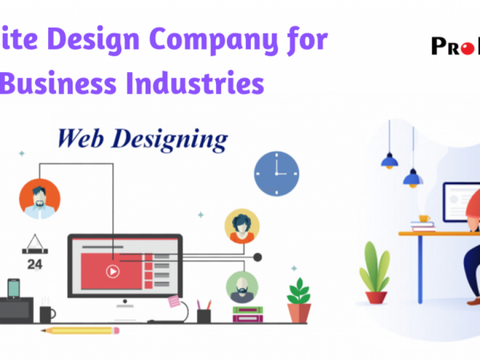 Website Design Company for Business Industries